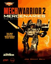 Cover of: Mechwarrior 2 - Mercenaries: The Official Strategy Guide (Secrets of the Games)