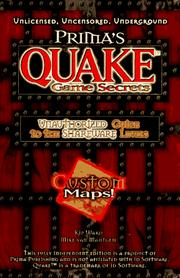 Cover of: Prima's Quake game secrets