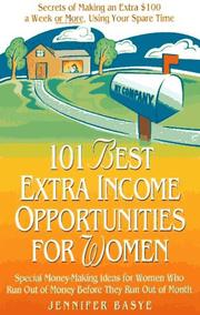 Cover of: 101 best extra-income opportunities for women