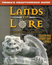 Cover of: Lands of lore, guardians of destiny