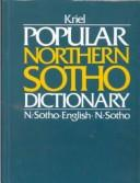 Cover of: Sotho English English Sotho Dictionary | T. J. Kriel