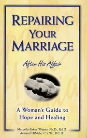 Cover of: Repairing your marriage after his affair