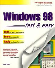 Cover of: Windows 98 fast & easy