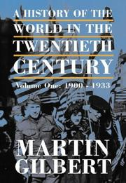 Cover of: THE HISTORY OF THE TWENTIETH CENTURY