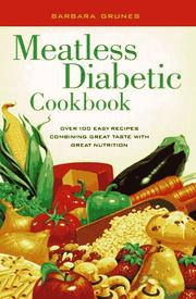 Meatless Diabetic Cookbook