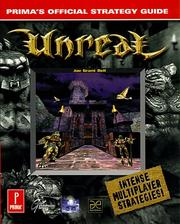 Cover of: Unreal: Prima's Official Strategy Guide