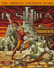 Cover of: Ecstatica II: The Official Strategy Guide