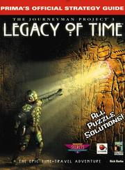 Cover of: Journeyman project 3, legacy of time | Rick Barba