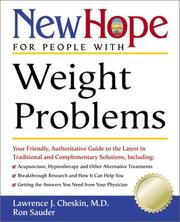 Cover of: New Hope for People with Weight Problems | Lawrence J. Md Cheskin, Ron Sauder