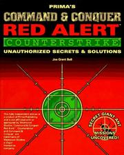 Cover of: Command & Conquer: Red Alert - Counterstrike: Unauthorized Secrets and Solutions (Secrets of the Games Series.)