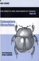 Cover of: Coleoptera Histeridae |