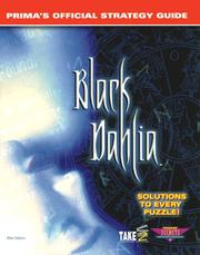 Cover of: Black Dahlia: Prima's official strategy guide
