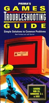 Cover of: Games troubleshooting guide | Bart Farkas