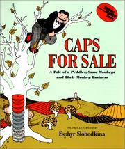 Cover of: Caps for Sale Big Book (Reading Rainbow Book) | Esphyr Slobodkina