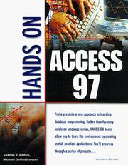 Cover of: Hands on Access 97