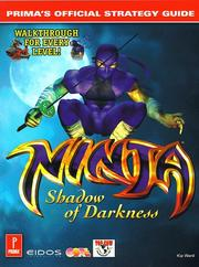 Cover of: Ninja, Shadow of Darkness
