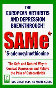 Cover of: SAMe* (*S-Adenosylmethionine)