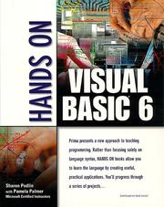 Cover of: Hands on Visual Basic 6