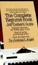 Cover of: Complete Resume Book and Job Getter's Guide