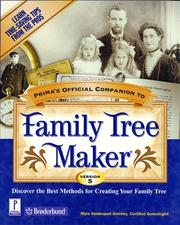 Cover of: Prima's official companion to Family tree maker, version 5