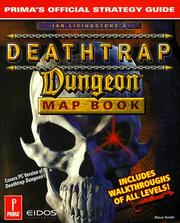 Deathtrap Dungeon Map Book (PC Version) by Melene Smith, Steve Smith