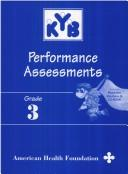 Cover of: Grade 3 Know Your Body Performance Assessments | Institute For Cancer Prevention