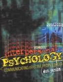 Cover of: Interpersonal Psychology