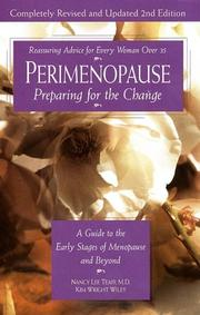 Perimenopause--Preparing for the Change, Revised 2nd Edition