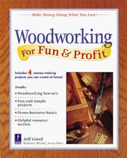 Cover of: Woodworking For Fun & Profit | Jeff Greef
