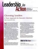 Cover of: Leadership in Action, No. 2, 1999