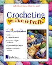 Cover of: Crocheting for fun & profit