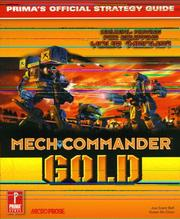 Cover of: MechCommander Gold
