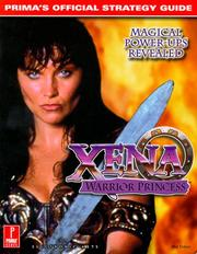 Cover of: Xena: Warrior Princess: Prima's Official Strategy Guide