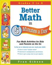 Better Math in 5 Minutes a Day