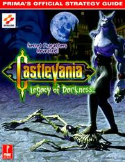 Cover of: Castlevania: Legacy of Darkness, Prima's Official Strategy Guide