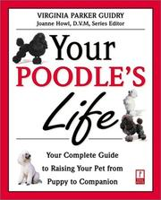 Cover of: Your Poodle's Life