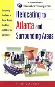 Relocating to Atlanta and surrounding areas by H. M. Cauley