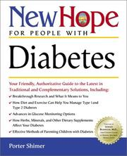 Cover of: New Hope for People with Diabetes