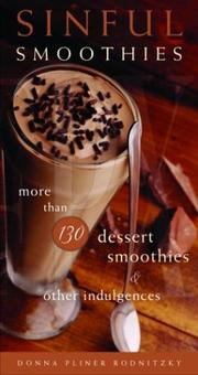 Cover of: Sinful Smoothies | Donna Pliner Rodnitzky