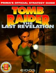 Cover of: Tomb Raider: The Last Revelation | Dimension Publishing