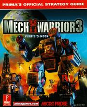 Cover of: Mechwarrior 3 Pirates Moon: Exp Pack