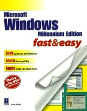 Cover of: Microsoft Windows Millennium Edition Fast & Easy