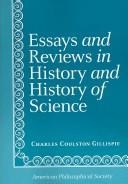 Cover of: Essays and Reviews in History and History of Science (Transactions of the American Philosophical Society)