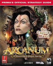 Cover of: Arcanum | Inc. IMGS