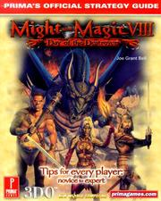 Cover of: Might & Magic VIII: Day of the Destroyer: Prima's Official Strategy Guide