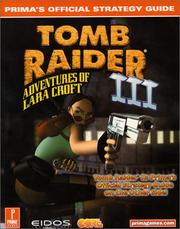 Cover of: Tomb raider III