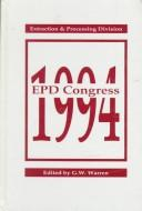 Cover of: Epd Congress, 1994 | Garry W. Warren