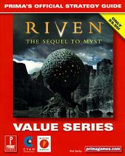 Cover of: Riven: The Sequel to Myst (Value Series) | Rick Barba