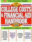 Cover of: College Costs & Financial Aid Handbook 1998 (Serial)