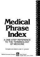 Cover of: Medical Phrase Index